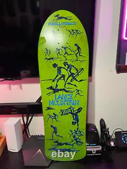 Lance Mountain Future Primitive Re-Issue Deck New Never Rode