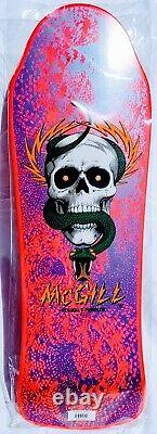 Mike Mcgill Bottle Nose Full Size (rare) Hotpink Deck! (re-issue) Brand New