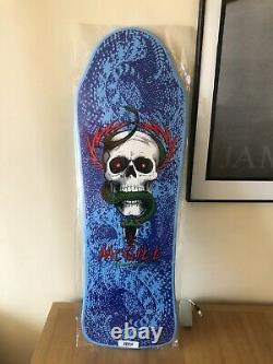 Mike mcgill reissue Powell peralta limited skateboard deck Rare Blue Never Used