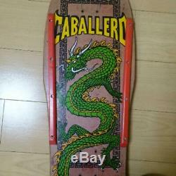 POWELL PERALTA Authentic 1980's Vintage CABALLERO Skateboard Deck Used