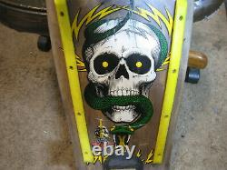 POWELL PERALTA MINI 7ply VINTAGE Early 1980's Mike Mcgill Skateboard Original