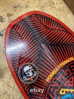 Powell Peralta MIKE VALLELY ELEPHANT Reissue SKATEBOARD DECK Red Streetplant