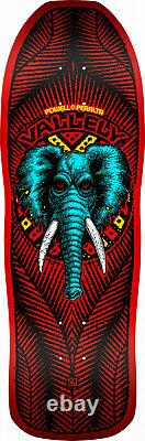Powell Peralta Mike Vallely ELEPHANT Reissue Skateboard Deck Red BLEMISH