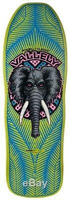 Powell Peralta Mike Vallely ELEPHANT Skateboard Deck LIME Out Of Print 2007