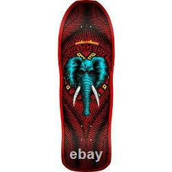 Powell Peralta Mike Vallely Elephant Skateboard Deck Reissue RED 10 x 30.25