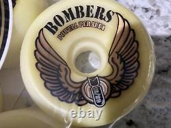 Powell Peralta NOS Vintage Bombers 68mm 85A Skateboard Wheels