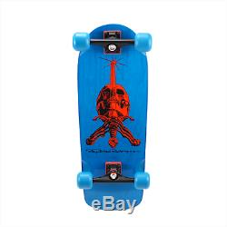 Powell Peralta OG Snub Nose Rodriguez Skull & Sword Blue Complete 10 Gullwings