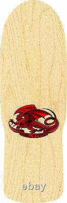 Powell Peralta STEADHAM SPADE Red/Natural Re-Issue Deck 10.0
