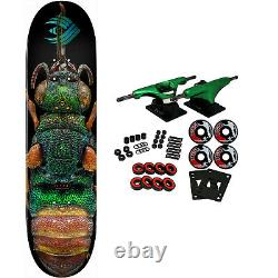 Powell Peralta Skateboard Complete Biss Flight Ruby Tailed Wasp 8.5 x 32.08