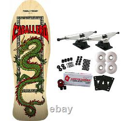 Powell Peralta Skateboard Complete Caballero Chinese Dragon Natural Re-Issue