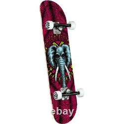 Powell Peralta Skateboard Complete Mike V Elephant Pink 8.25 x 31.95