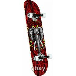 Powell Peralta Skateboard Complete Mike Vallely Elephant Red 8.25 x 31.95