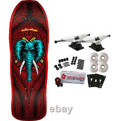 Powell Peralta Skateboard Complete Mike Vallely Elephant Red Re-Issue