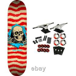 Powell Peralta Skateboard Complete Ripper Nat/Red 8.5 x 32