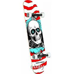 Powell Peralta Skateboard Complete Ripper Red 8.0 x 31.45