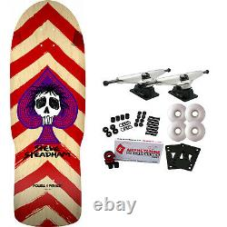 Powell Peralta Skateboard Complete Steadham Spade Red Re-Issue Old School