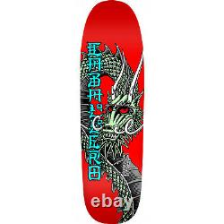 Powell Peralta Skateboard Deck Caballero Ban This Red Re-Issue Old School