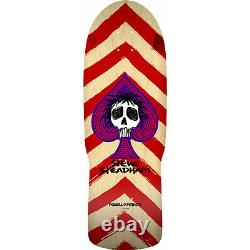 Powell Peralta Skateboard Deck Steadham Spade Red/Natural Re-Issue