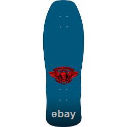 Powell Peralta Skateboard Deck Welinder Nordic Skull Blue Re-Issue with Grip