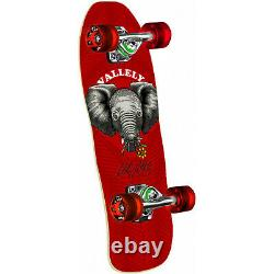 Powell Peralta Skateboard Mike Vallely Baby Elephant Cruiser Red 8.0 x 26