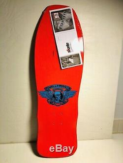 Powell Peralta Welinder Nordic Skull Skateboard Deck NEW! Santa Cruz HOT PINK
