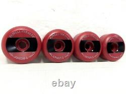 Vintage NOS Powell Peralta T-Bones II 67mm 1989 Skateboard Wheels RARE RED NEW
